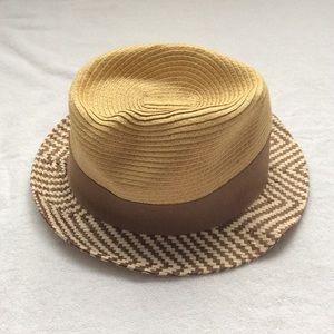 New straw beach hat, women's